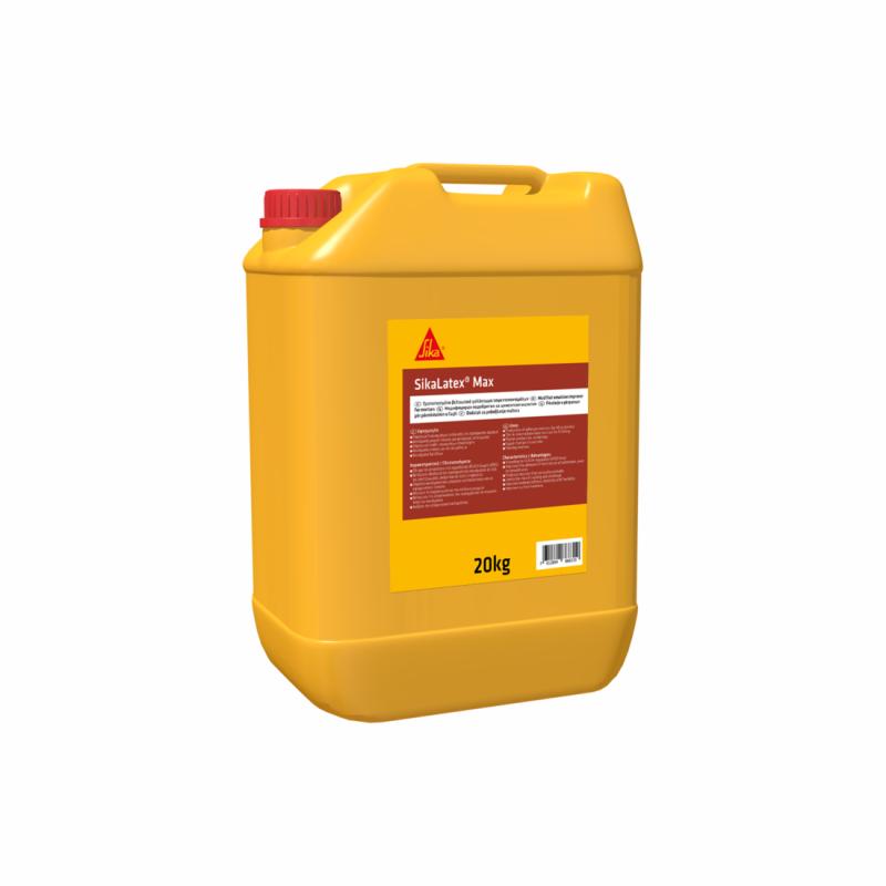 SikaLatex® Max Τροποποιημένο Γαλάκτωμα Βελτιωτικό Γαλάκτωμα Τσιμεντοκονιαμάτων 5kg, 421170