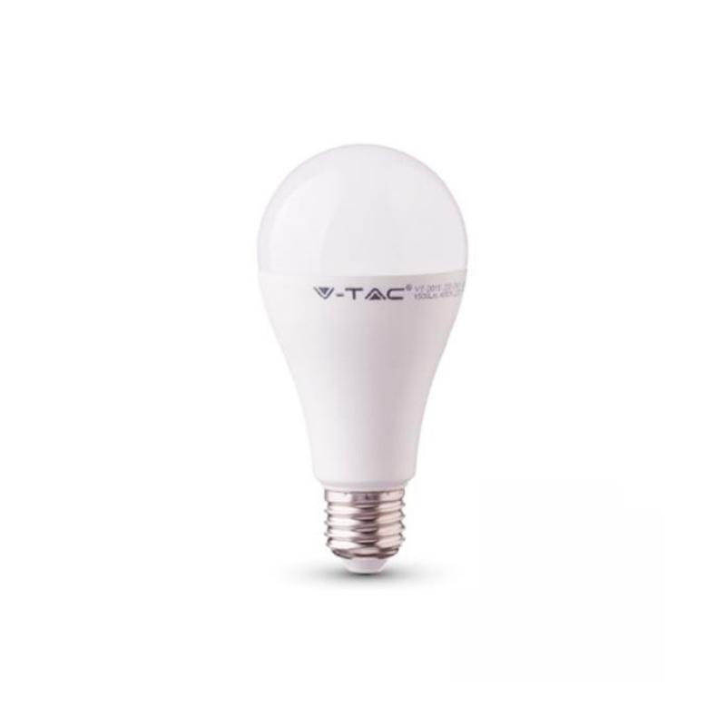 ΛΆΜΠΑ LED E27 A60 SMD 12W ΦΥΣΙΚΌ ΛΕΥΚΌ 4000K CRI>95 7483, V-TAC