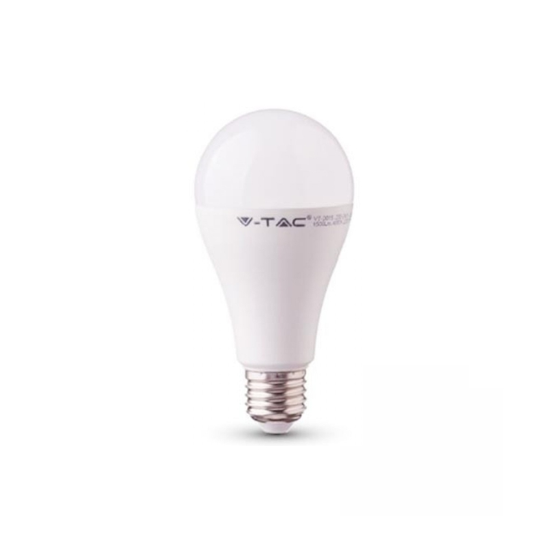 ΛΆΜΠΑ LED E27 A60 SMD 12W ΨΥΧΡΌ ΛΕΥΚΌ 6400K CRI>95 7484, V-TAC