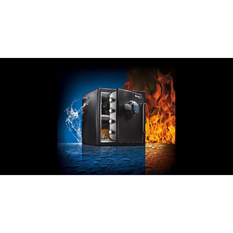 Χρηματοκιβώτιο ψηφιακό ασφαλείας με συναγερμό. Αντοχή στη φωτιά και στο νερό XXL LFW205TWC, MASTERLOCK