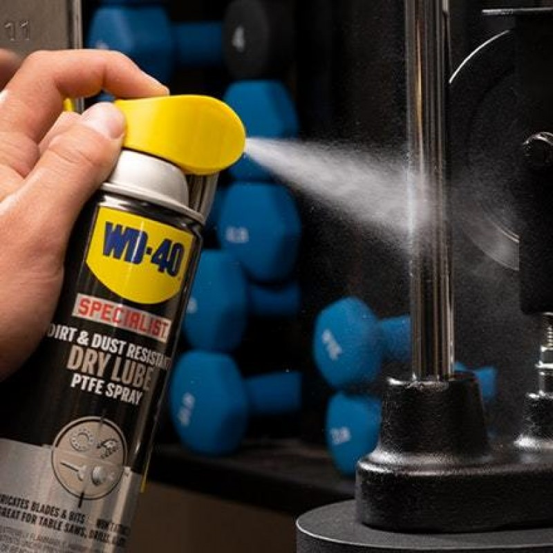 WD-40 ANTI FRICTION DRY PTFE LUBRICANT 400ml 207040120