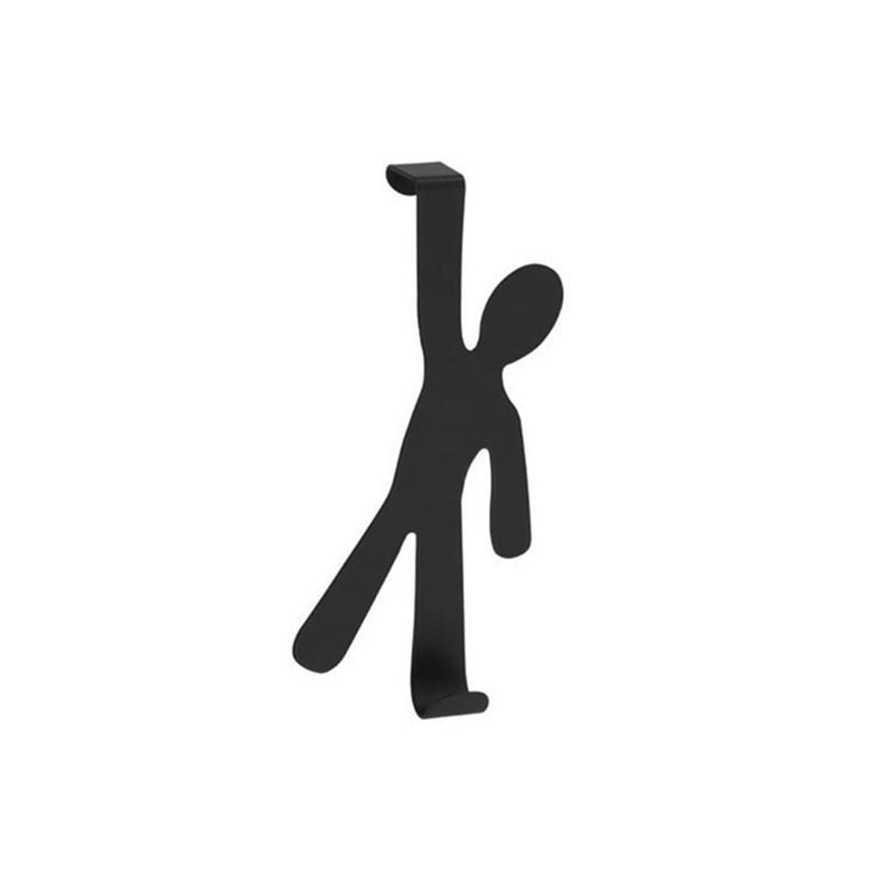 Γάντζος για πόρτα Boy μαύρο, Wenko 446815121